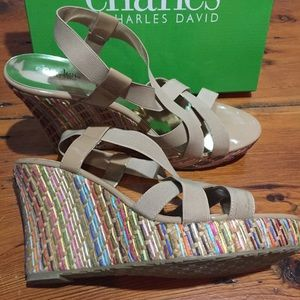 Charles by Charles David women's Wedge  size 11